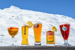 Choix de bières - Chalet de Caron