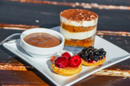 Desserts gourmands - Chalet de Caron